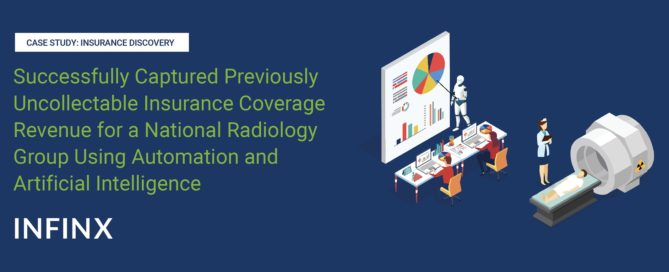 Radiology Group Using Insurance Discovery case study-Infinx