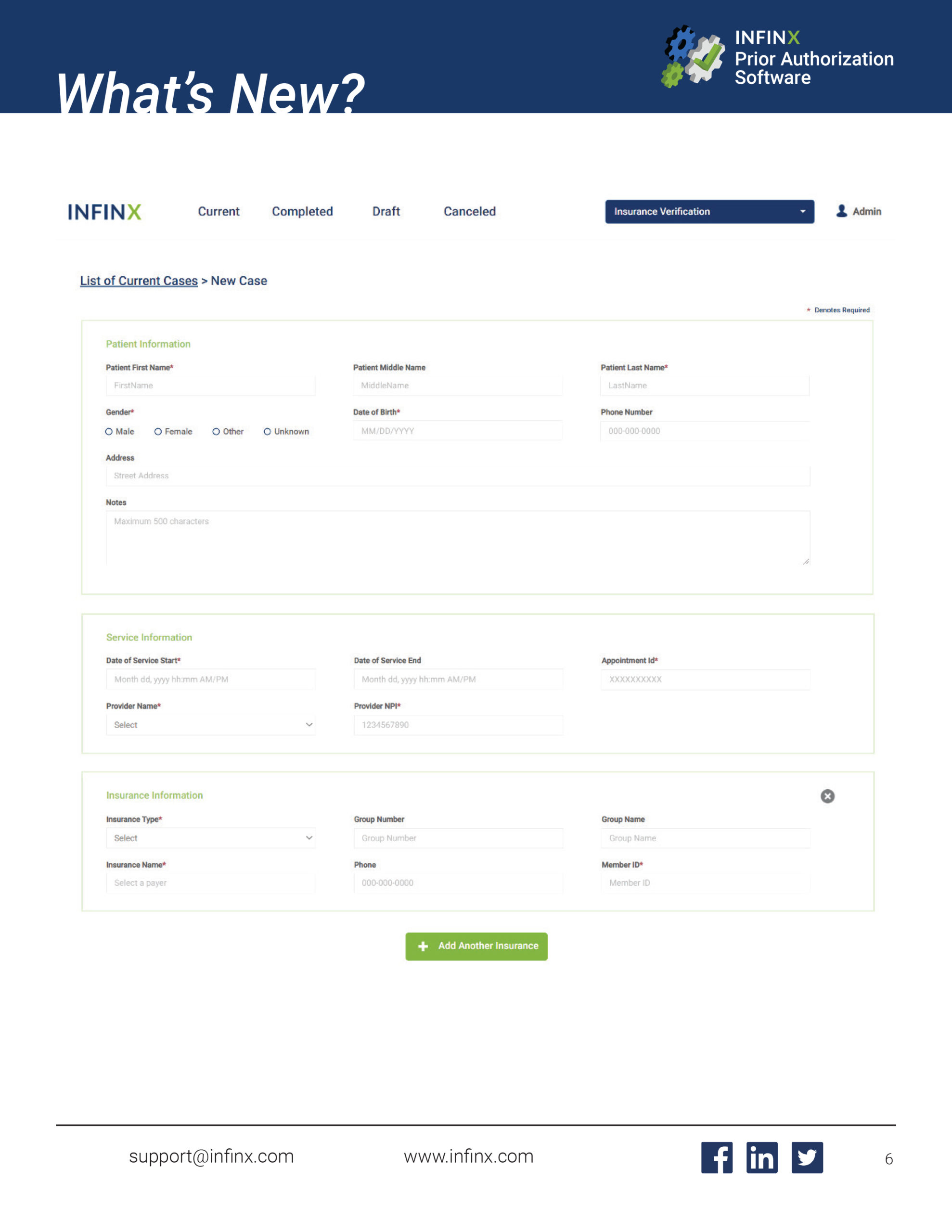 Infinx Prior Authorization Software 4.1 Release Notes October 2020-Final-6